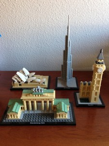 Sets de LEGO Architecture