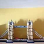 LEGO Tower Bridge ya montado